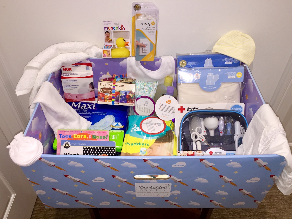 Baby Box Filled with Items