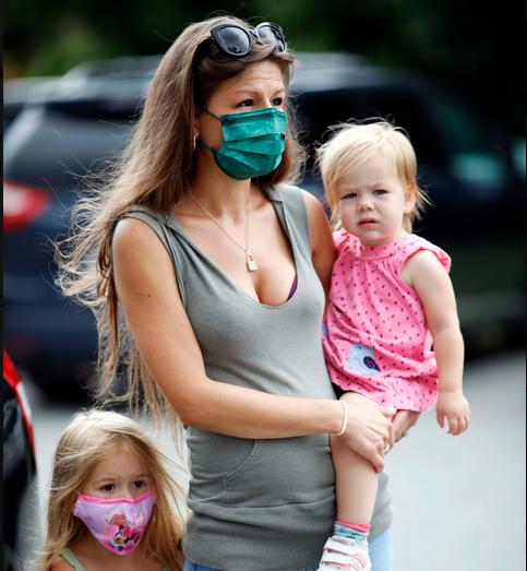 CHP Mom and children