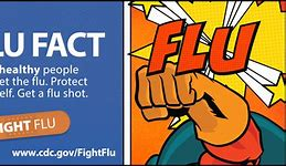 Flu shot graphic
